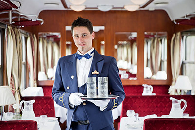 Golden Eagle Danube Express Restaurant Car
